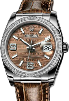 Rolex Архив Rolex 36 mm White Gold 116189 Bronze