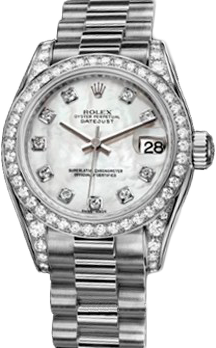 Rolex Datejust 26,29,31,34 mm Lady 26mm White Gold 179159 White MOP D