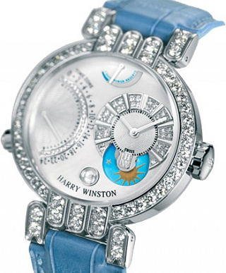 Harry Winston Premier The Excenter Timezone 200/MMTZ39WL.MD/D3.1