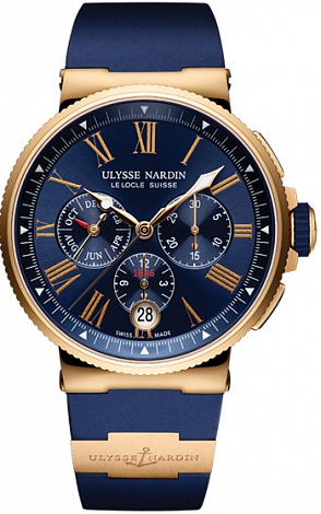UN Marine Collection Chronograph Annual Calendar 1532-150-3/43