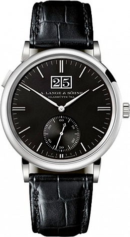 A. Lange & Sohne Saxonia Outsize Date 381.029