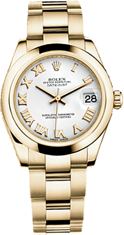 Rolex Datejust 26,29,31,34 mm Lady 31mm Yellow Gold 178248-0065