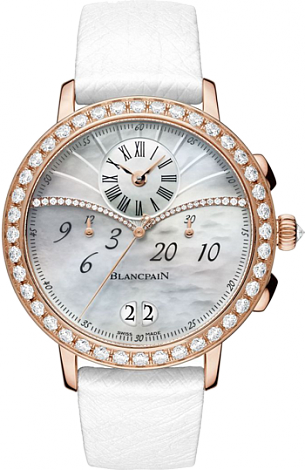 Blancpain Women Chronograph Large Date 3626-2954-58A