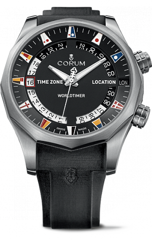 Corum Admiral`s Cup Legend 47 mm Worldtimer A637/02744 - 637.101.04/F371 AN02