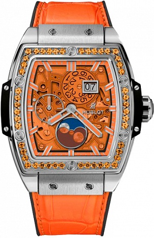 Hublot Spirit of Big Bang Moonphase Orange 647.NX.5371.LR.1206