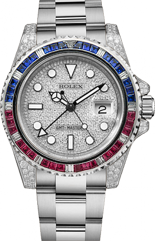 Rolex Fixing Oyster GMT-Master II 116759SARU Pave-FIX