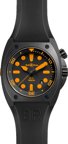 Bell & Ross Marine Automatic BR 02-92 Orange