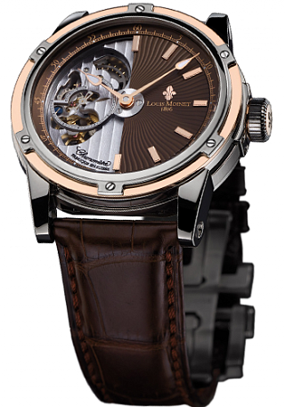Louis Moinet Limited editions Mecanograph Titanium and Rose Gold LM-31.40.95