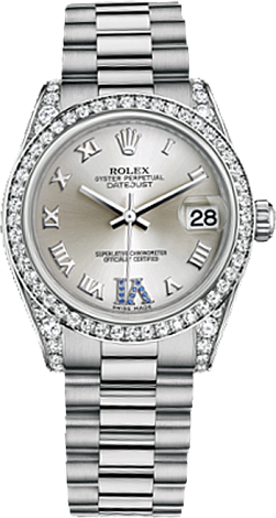Rolex Datejust 26,29,31,34 mm Lady 31mm White Gold 178159-0052