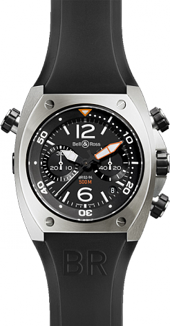Bell & Ross Marine Chronograph BR 02-94 Steel