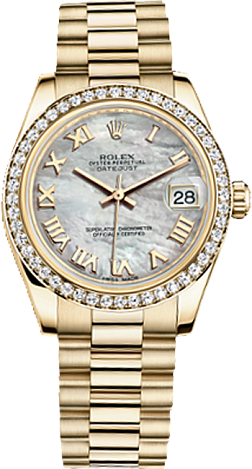 Rolex Datejust 26,29,31,34 mm Lady 31mm Yellow Gold 178288-0025