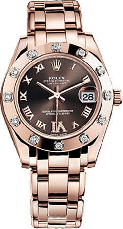Rolex Datejust Special Edition Special Edition 34 mm Everose Gold 81315-0003