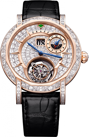Graff Collection Grand Date Dual Time Tourbillon MGUGMT43PGDF