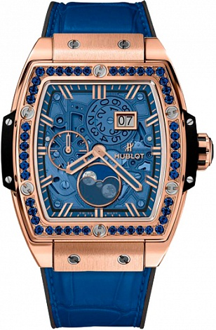 Hublot Spirit of Big Bang Moonphase Blue 647.OX.5181.LR.1201