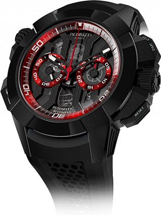 Jacob & Co. Watches Epic X Epic X Chrono Black Titanium EC311.21.SB.BR.A