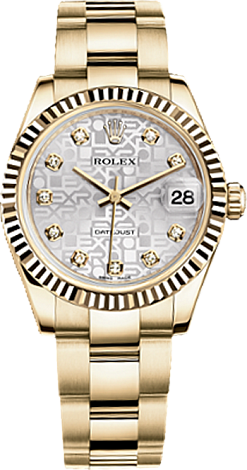 Rolex Datejust 26,29,31,34 mm Lady 31mm Yellow Gold 178278-0031