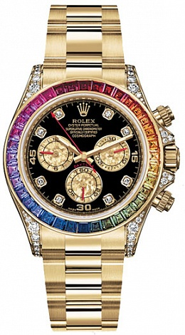 Rolex Daytona Cosmograph 40mm Yellow Gold 116598 RBOW