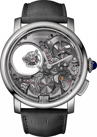 Cartier Rotonde de Cartier Minute Repeater Mysterious Double Tourbillon Minute Repeater Mysterious Double Tourbillon