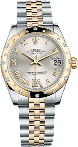 Rolex Datejust 26,29,31,34 mm Lady 31mm Steel and Yellow gold 178343-0012