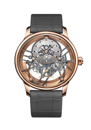 Jaquet Droz Legend Geneva Grande Seconde Skelet-One Red Gold J003523241