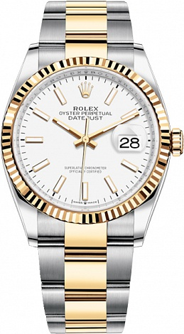 Rolex Datejust 36,39,41 mm 36 mm Yellow Gold 126233-0020