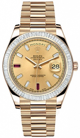 Rolex Архив Rolex 41mm Yellow Gold 218398 BR