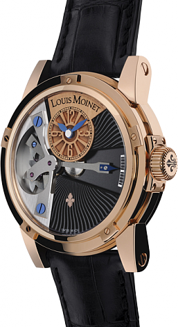 Louis Moinet Limited editions Tempograph LM.19.50.50