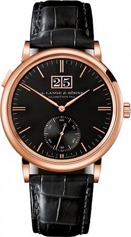 A. Lange & Sohne Saxonia Outsize Date 381.031