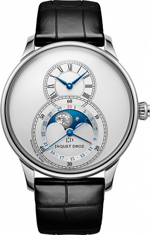 Jaquet Droz Legend Geneva Grande Seconde Moon Silver J007530240