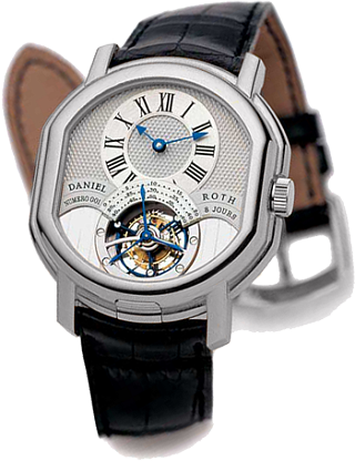 Daniel Roth Masters Tourbillon 8-Days Power Reserve Double Face 197.X.60