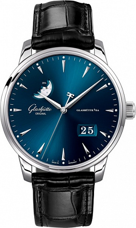 Glashutte Original Senator Excellence Panorama Date Moon Phase 1-36-04-04-02-01