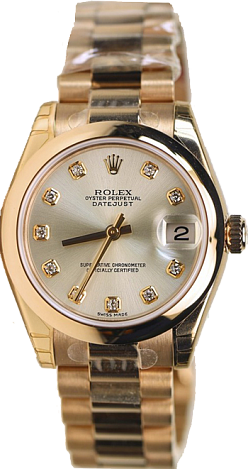 Rolex Datejust 26,29,31,34 mm Midsize Pink Gold 178245 SD