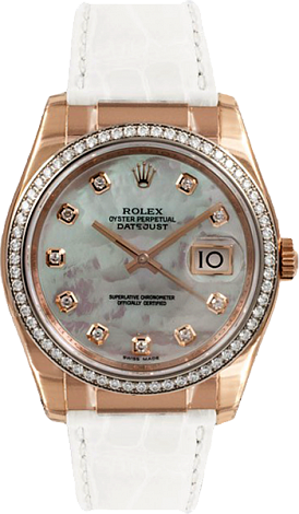 Rolex Datejust Special Edition 36 mm Everose Gold 116185-0091
