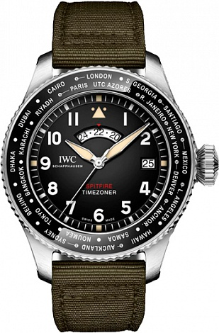 "IWC Pilot`s watches Timezoner Spitfire Edition ""The Longest Flight"" IW395501"