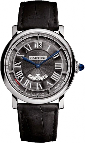 Cartier Rotonde de Cartier Annual Calendar 40mm White Gold Annual Calendar 40mm White Gold