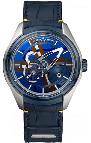 UN Complications Freak X Silicium Marquetry 2303-270LE/03-MARQ
