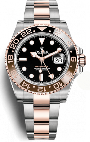Rolex GMT-Master II Oystersteel and Everose gold  126711chnr-0002