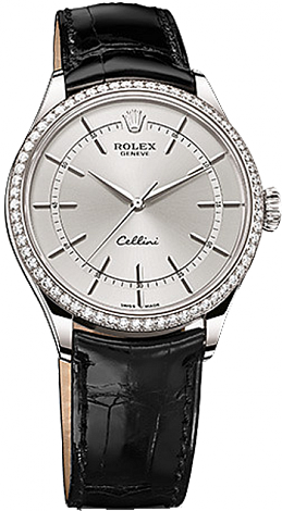 Rolex Cellini 39 mm White Gold 50709RBR