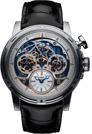 Louis Moinet Limited editions Memoris White Gold  LM-54.70.80B