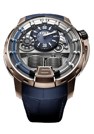 HYT H1 Titanium and Bronze 148-TB-21-485037