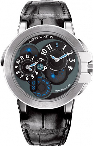 Harry Winston Ocean Collection Dual Time 400/MATZ44WL.K1